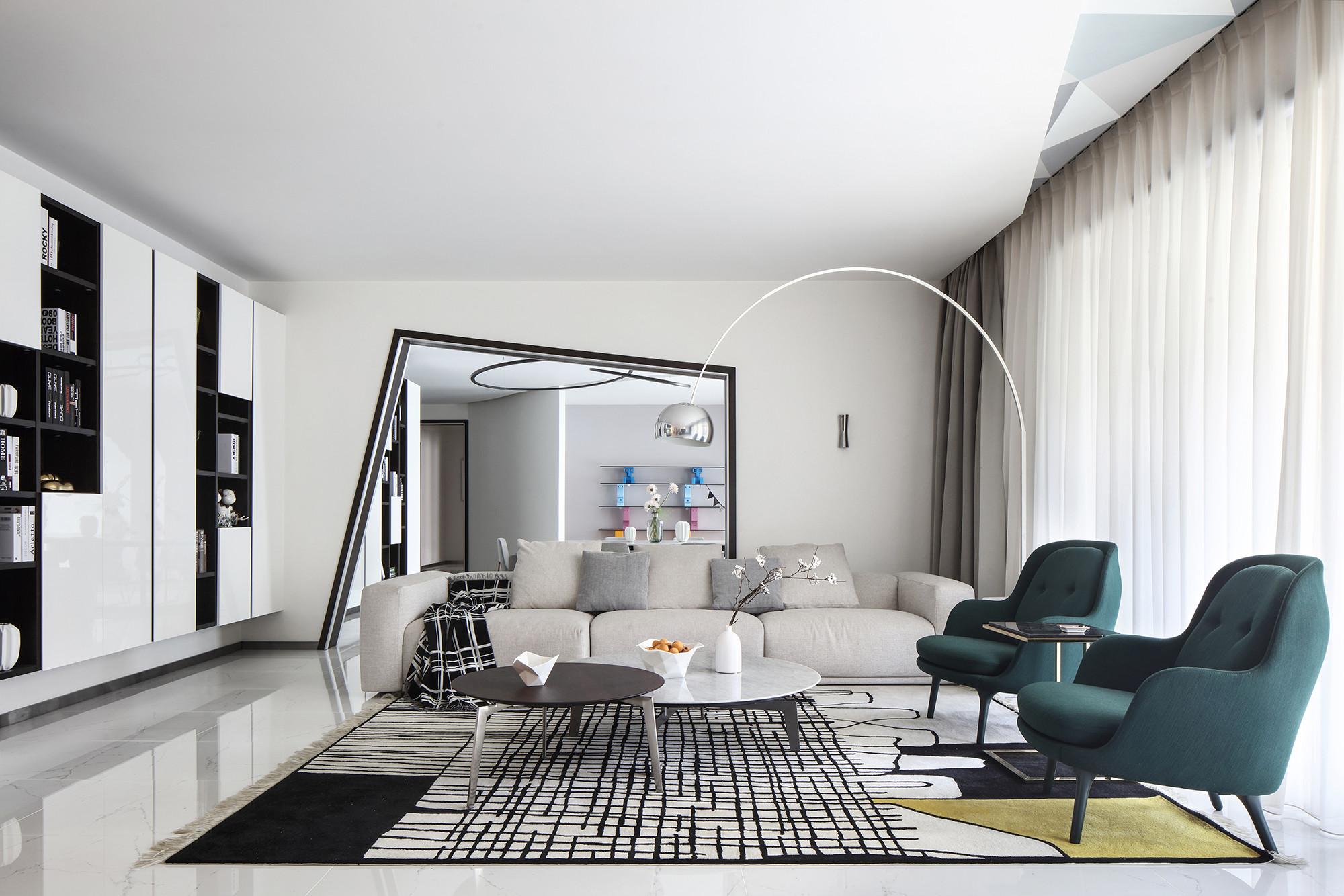 大户型现代简约家沙发图片