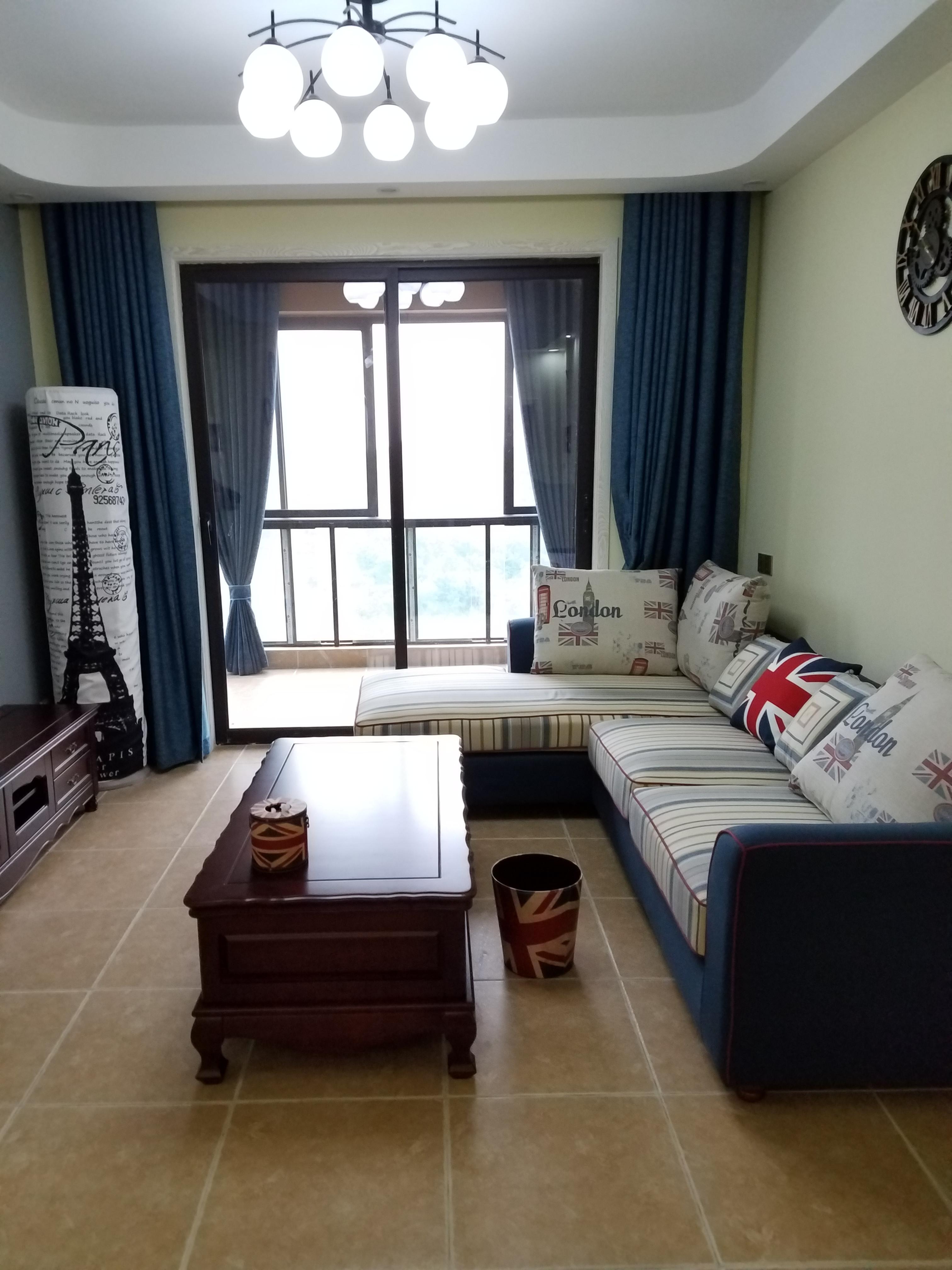 美式二居装修沙发图片