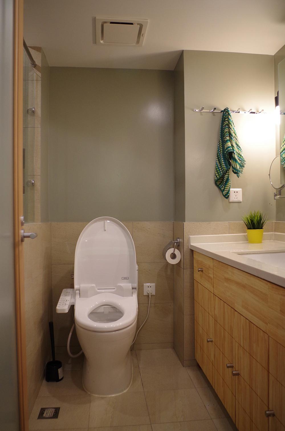 70平北欧二居装修卫生间装潢图