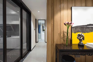 现代复式装修玄关设计图