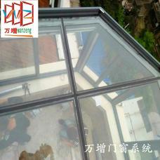 【万增门窗】上海万增厂家供应 阳光房 阳台钢化玻璃房