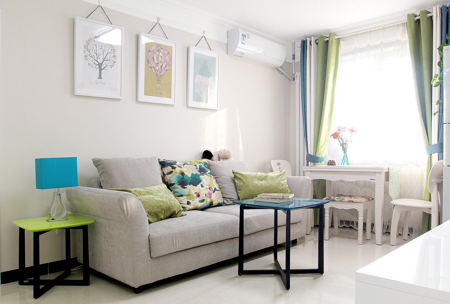 60平小户型装修沙发图片