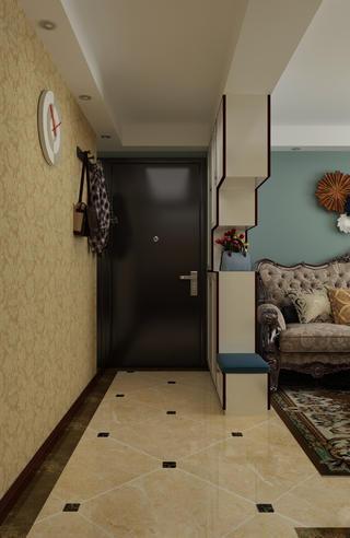 一居室美式之家玄关设计图