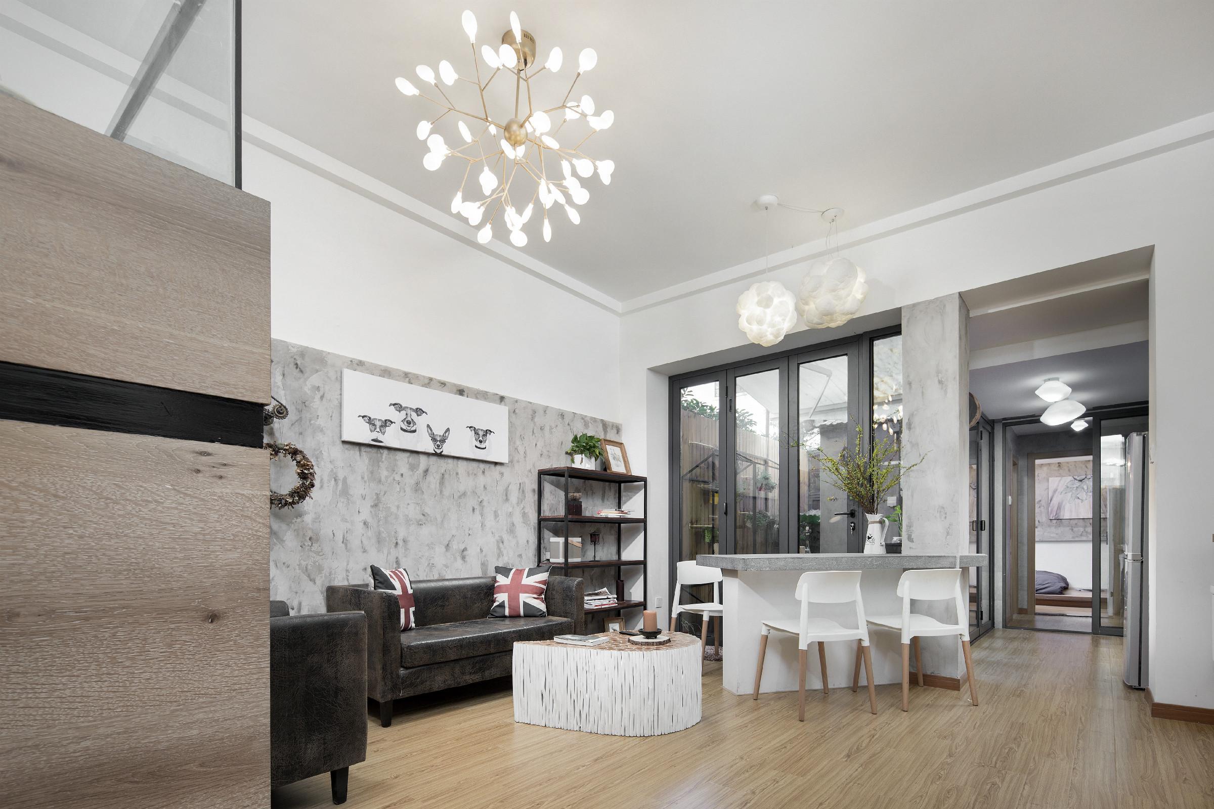 38平小户型公寓装修吧台图片