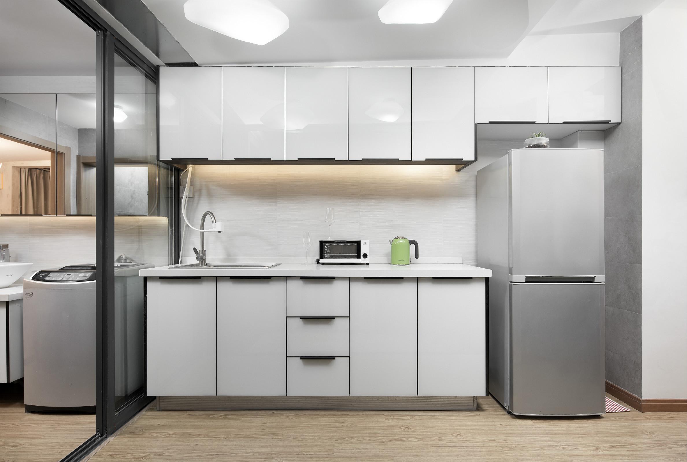 38平小户型公寓装修橱柜图片