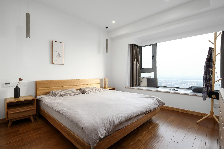 140平日式装修卧室效果图
