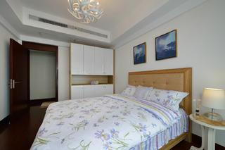 三居室美式空间装修次卧效果图