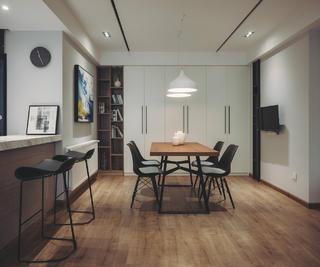 140平现代简约家装修吧台椅图片