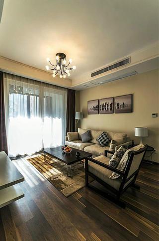 106平现代简约家沙发背景墙图片