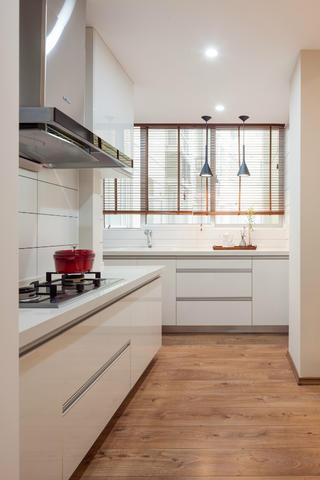 简洁北欧二居装修厨房设计图