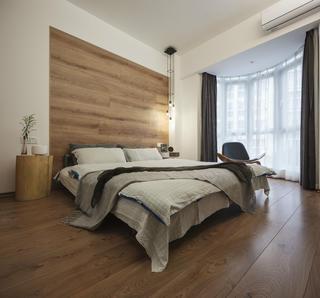 简洁北欧二居装修卧室效果图