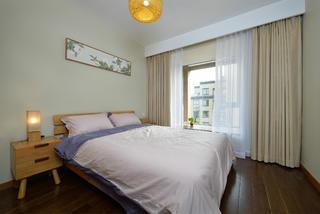 日式三居装修卧室效果图
