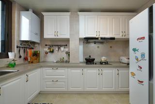 130㎡简美之家厨房参考图
