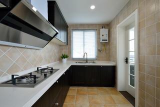 160平美式装修厨房构造图