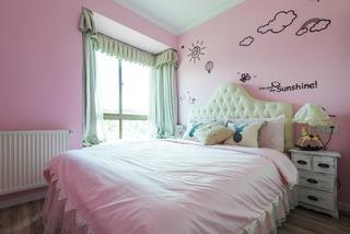 复式美式风格装修儿童房设计图