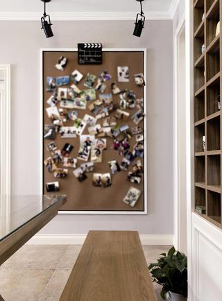 二居室美式风情家照片墙图片
