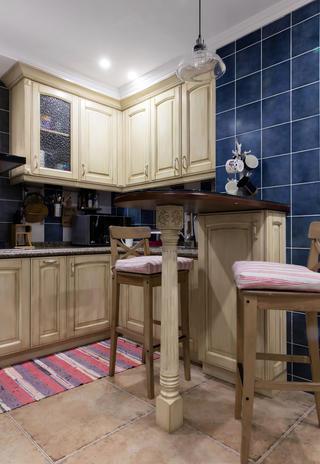二居室美式风情家厨房设计图