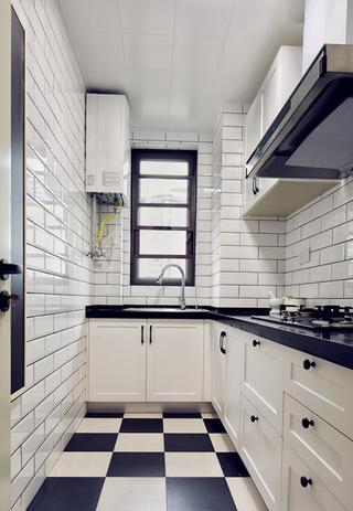 北欧二居装修厨房效果图