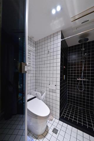 70平一居室小家卫生间实景图
