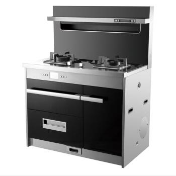JJZ-X2-BZB-FB集成灶 侧吸式环保灶 抽油烟机灶具消毒柜套装 液化气