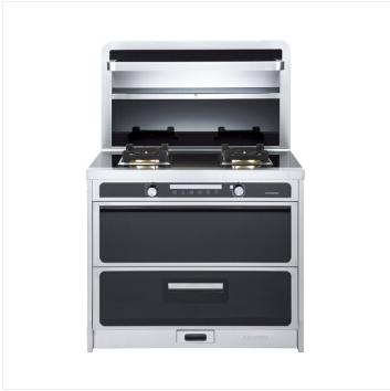 JJZ-X5-90HA5集成灶 侧吸式环保灶 抽油烟机灶具消毒柜套装 天然气