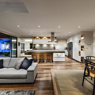 现代中式别墅装修 细腻和谐