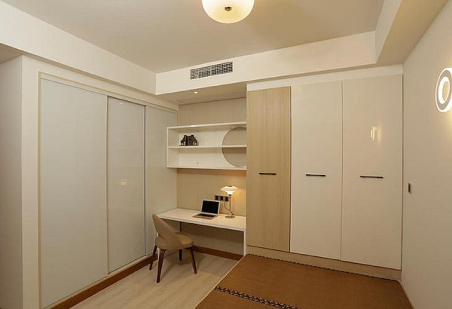 日式二居装修次卧工作区
