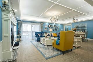 三居室美式之家客厅设计图