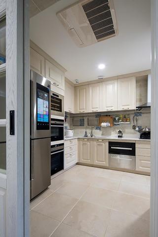 三居室美式之家厨房欣赏图