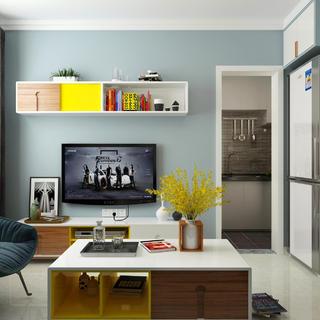 80㎡宜家风格设计 乐享空间