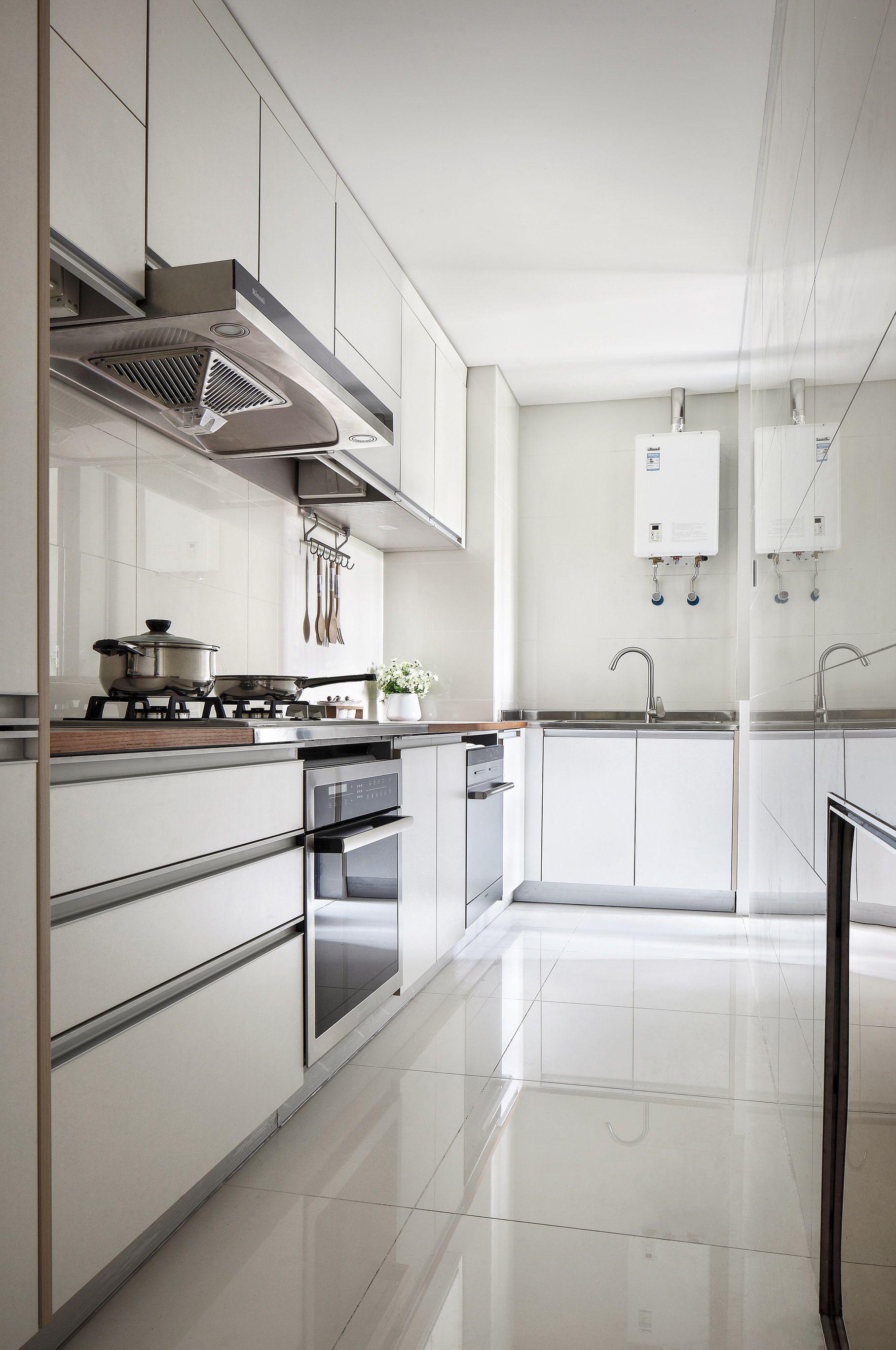 110㎡简约装修厨房效果图