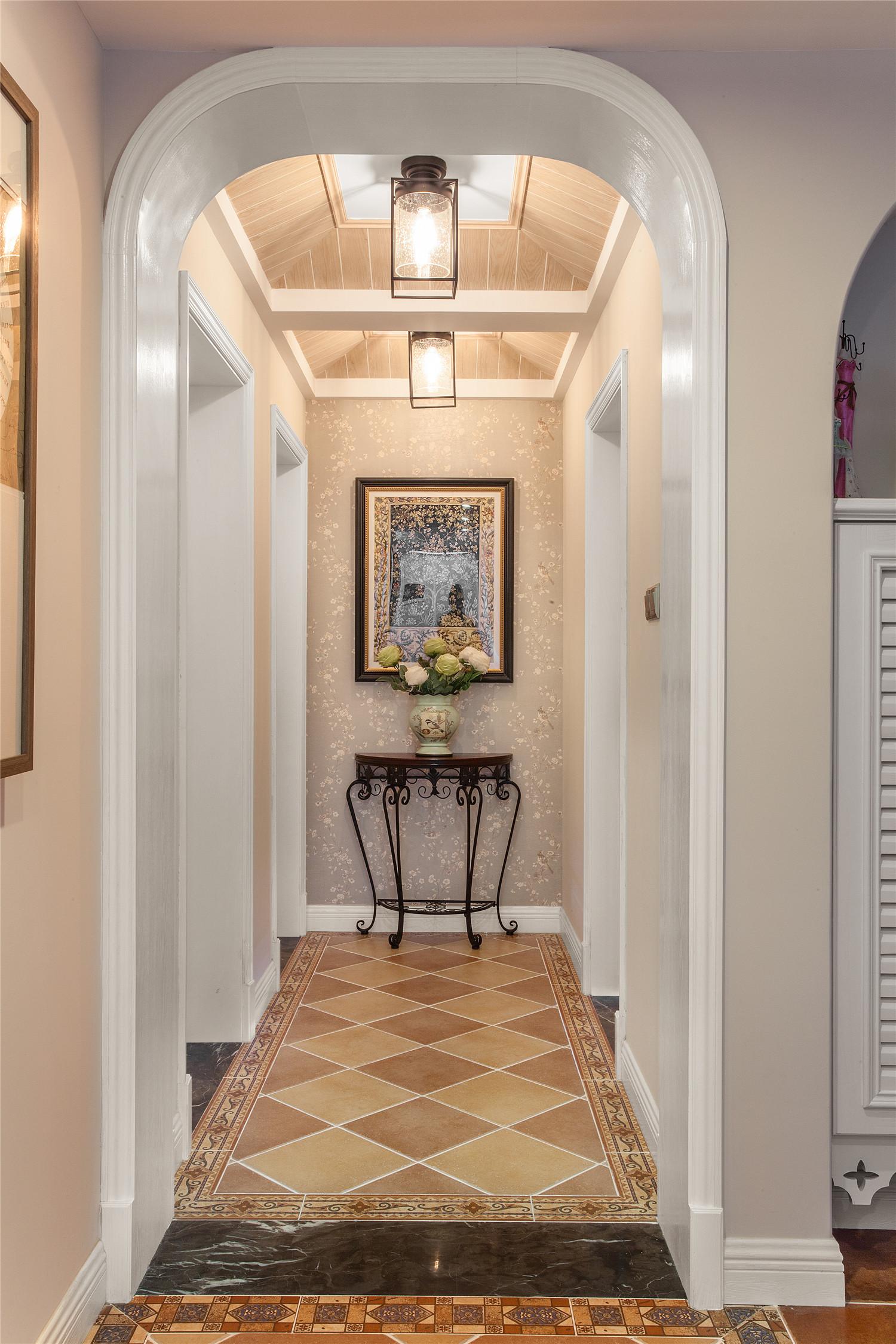150平美式风格家门厅走廊