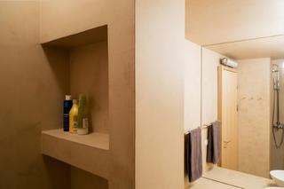 公寓简约装修卫生间一角