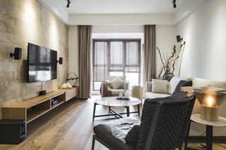140平简约装修客厅设计图
