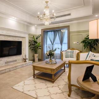 法式二居装修效果图 浪漫休闲