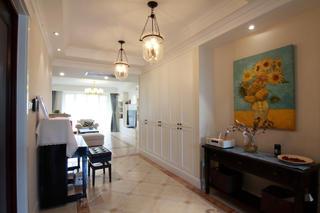 155平简美之家装修门厅布置图