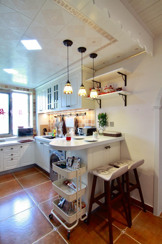 53平美式小家厨房实景图