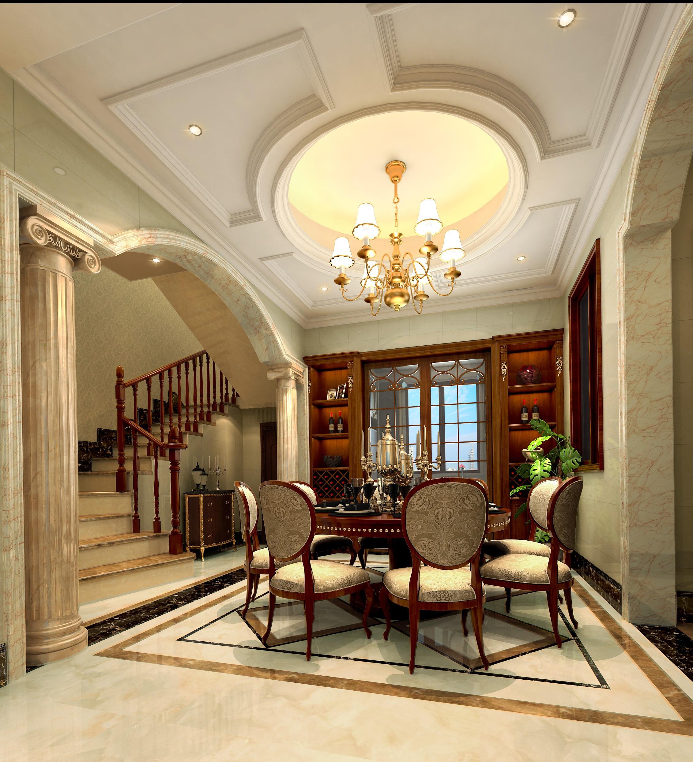 现代简约风格餐厅2013年别墅豪华欧式客厅6平米厨房装修图片