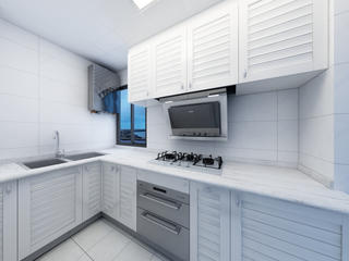 一居室小户型装修厨房构造图