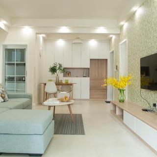 三居室北欧风格家 淡雅洁净