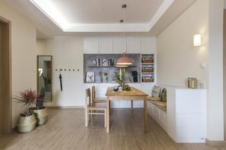 北欧三居室装修餐厅设计图