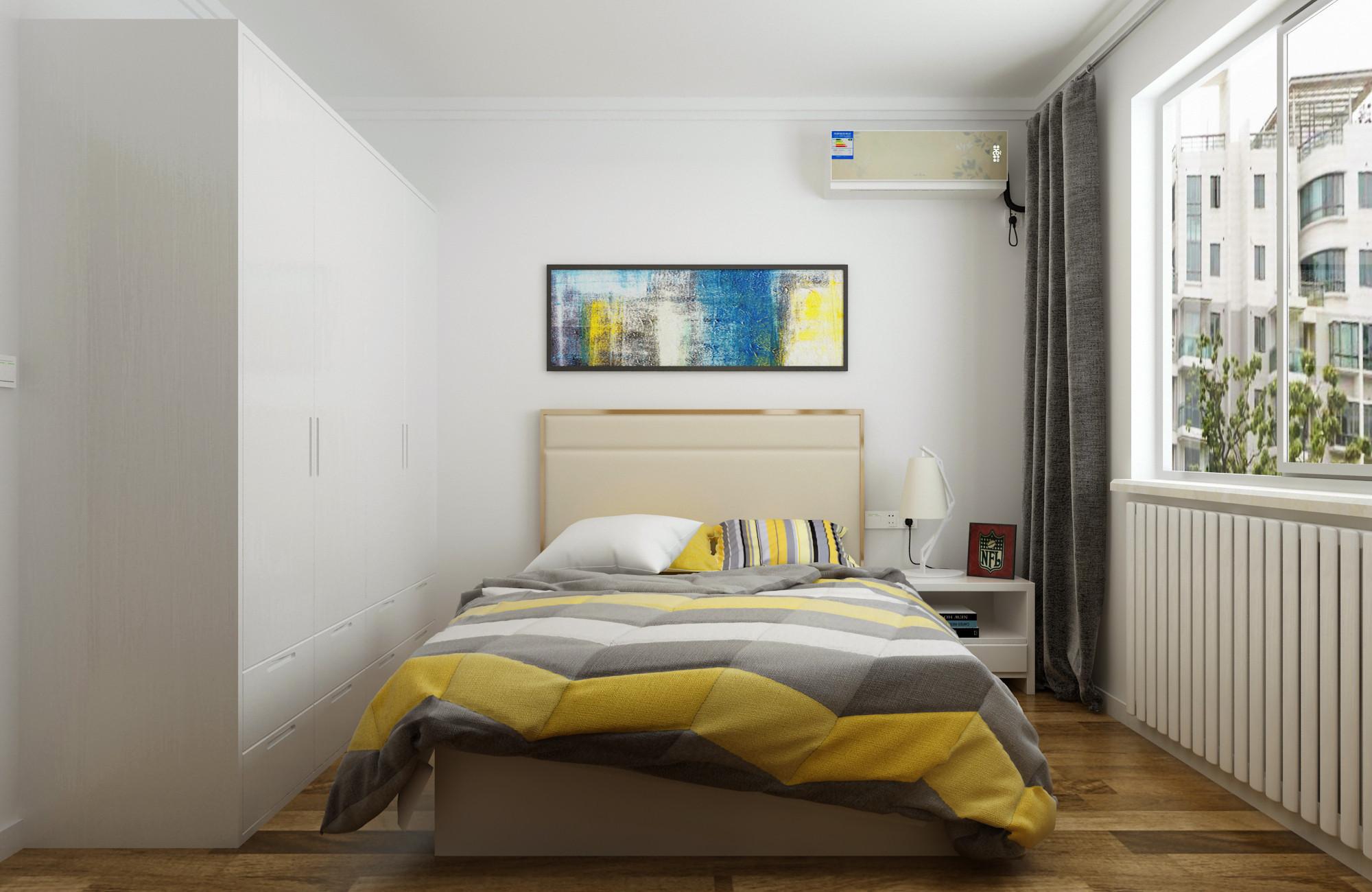 三居室现代简约设计衣柜图片