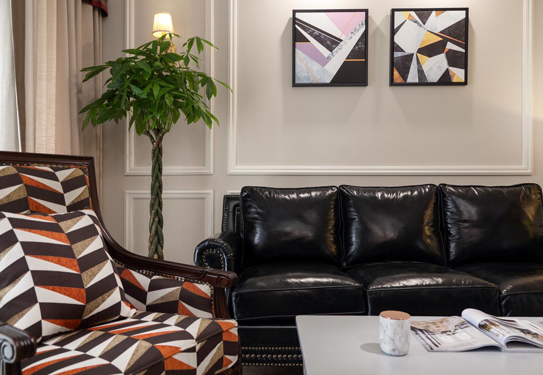 140平美式风格家沙发图片