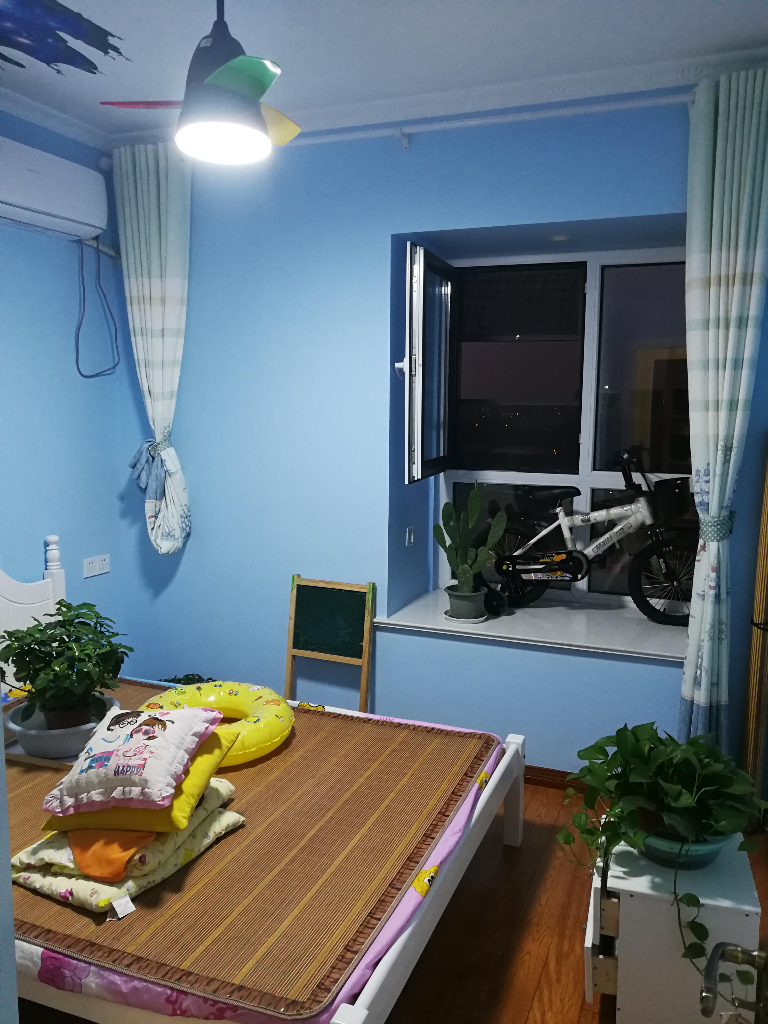110平简约三居室装修次卧实景图