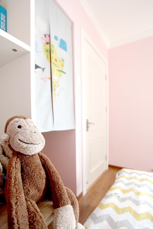 北欧二居室空间玩具特写