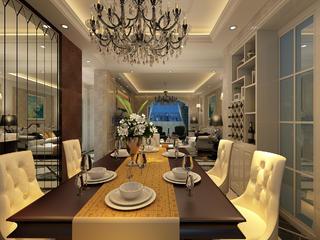 豪华欧式装修餐厅设计图