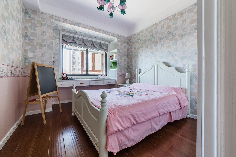 美式三居装修儿童房效果图