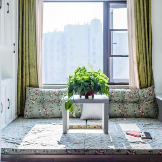 现代美式三居装修 色彩斑斓