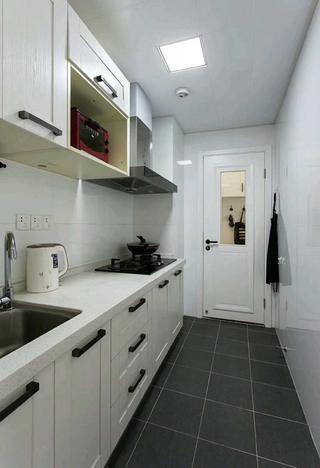 北欧二居室装修厨房效果图