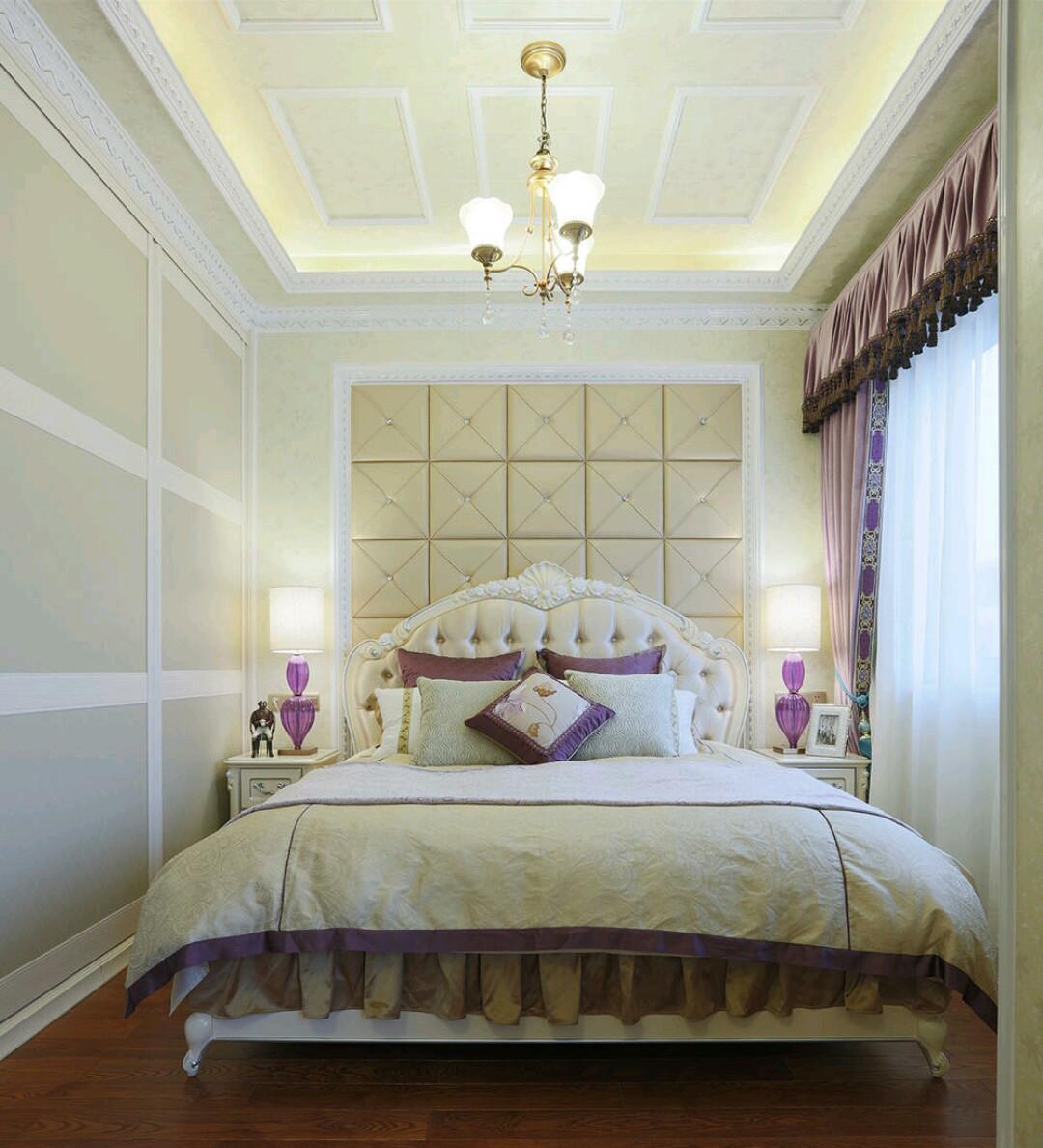 法式复式装修卧室效果图